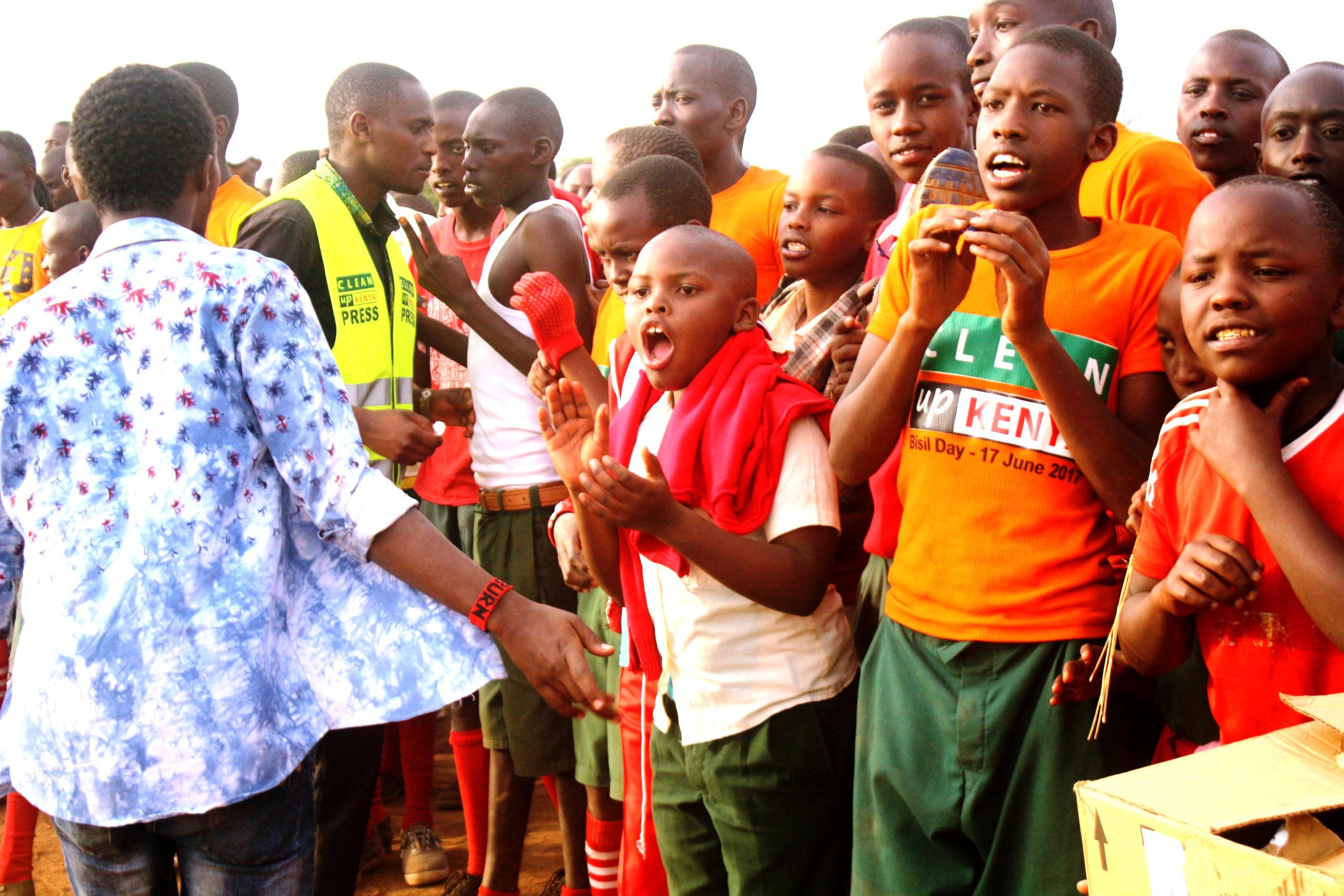 Clean Up Kenya takes public sanitation message to Maasai Land!