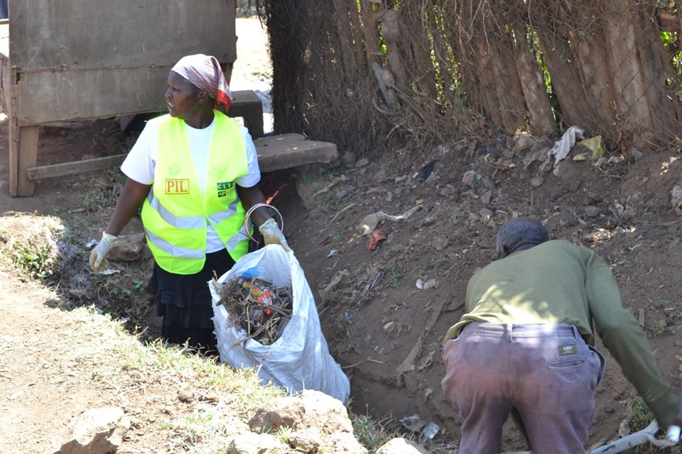 A campaign to empower community responsibility for clean neighbourhoods ends in Dagoretti