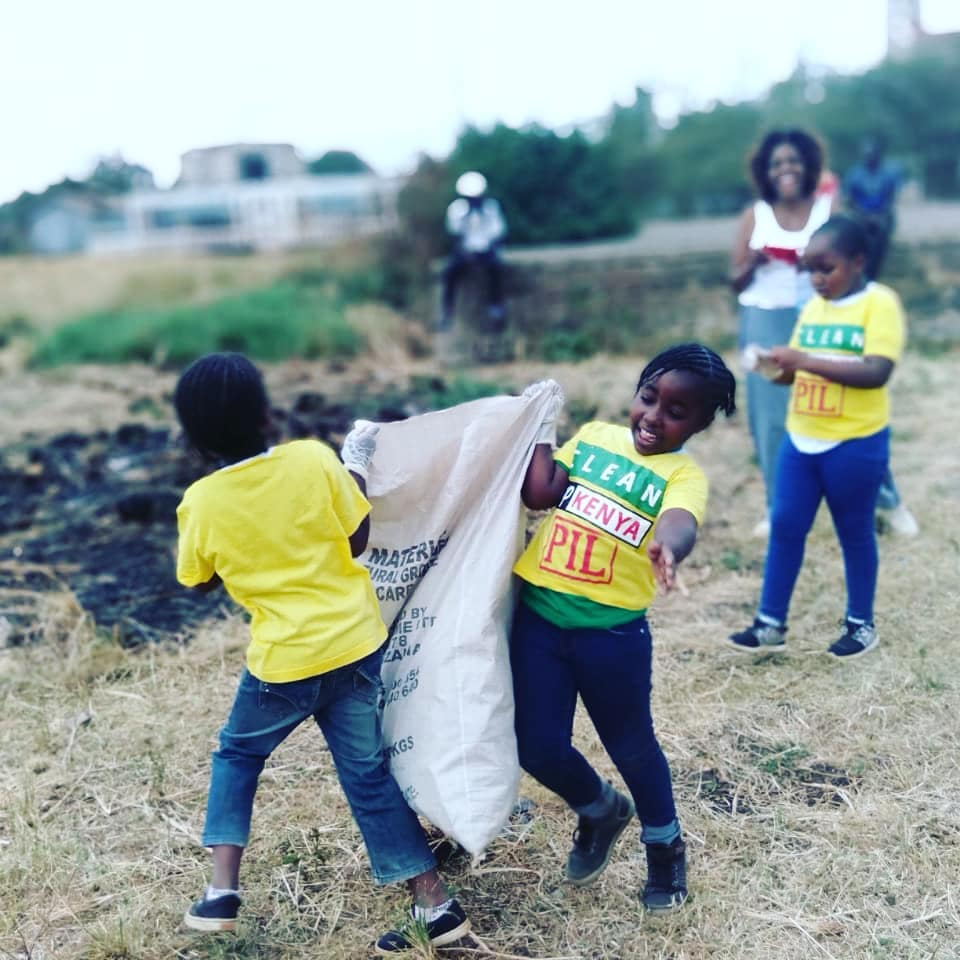 Clean Up Kenya - Debbie Oyugu Kids