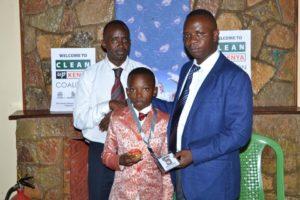 Amos Mutethia - Clean Up Kenya
