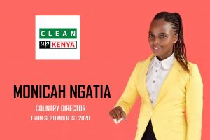 Clean Up Kenya appoints youthful Country Director