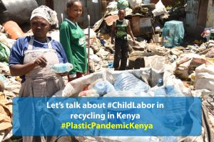 #TellJoyce Blackmail will not work in addressing the problem of plastic waste in Kenya