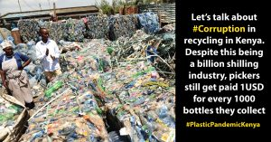Let's Talk About Corruption in Recycling In Kenya