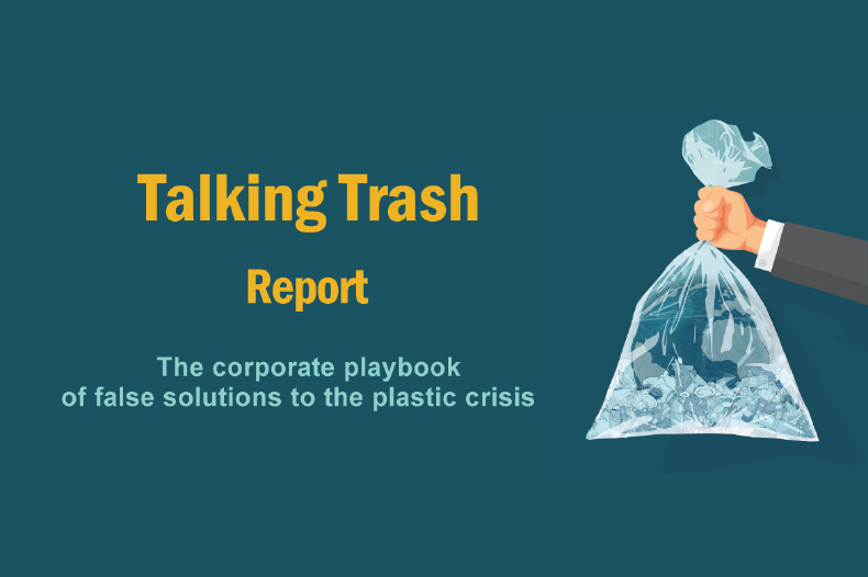 Read more about the article Ground-breaking report reveals the hypocrisy of the world's biggest plastic polluters