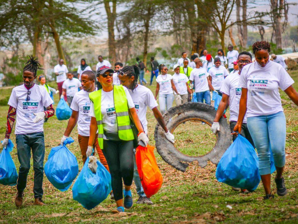 Clean Up Kenya Naivasha