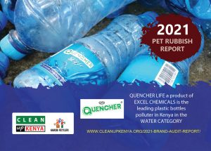 Read more about the article Quencher Life is the most polluting water brand in Kenya, audit reveals
