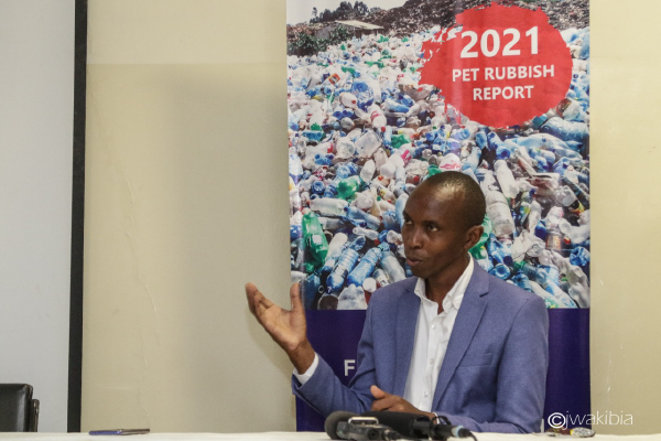 Read more about the article Statement from James Wakibia on Launch of 2021 PET Rubbish Report